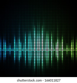 Abstract mosaic background. EPS10 vector