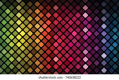 Abstract mosaic - vector colorful background with colorful lights.