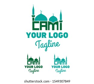 Abstract Mosque Moslem Logo Vector For Corporate Business