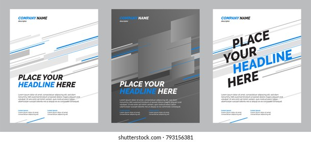 Abstract motion templates. Applicable for Banners, Placards, Posters, Flyers.