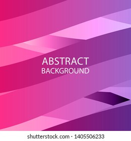 Abstract multicolor wave background. - vector
