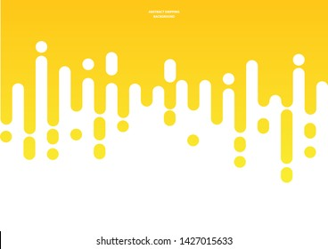 Abstract mustard or honey dripping background. Vector Illustration.