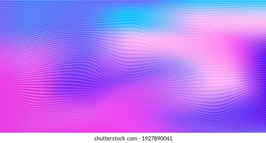 Abstract neon background modern hipster pop Art futuristic graphic.  background with stripes. Vector abstract background texture design, bright card, banner neon background Vector illustration