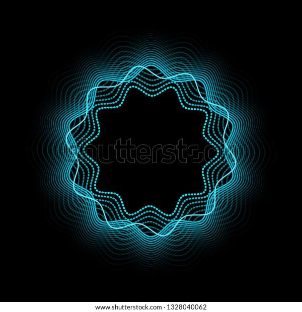 Vector De Stock Libre De Regalías Sobre Abstract Neon