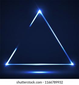Neon Triangle Images, Stock Photos & Vectors   Shutterstock