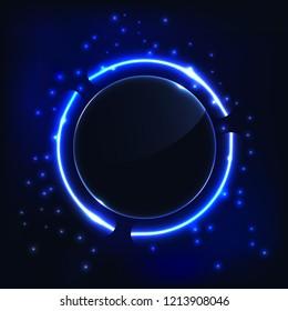 Neon Circle Images, Stock Photos & Vectors | Shutterstock
