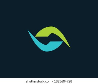 Abstract number 69 | 67 logo design template, 69 in two clasping hands concept template design