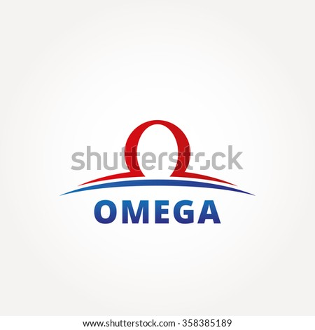 Abstract omega letter business logo design stock vector royalty abstract omega letter business logo design template emblem template editable for your design flashek Choice Image