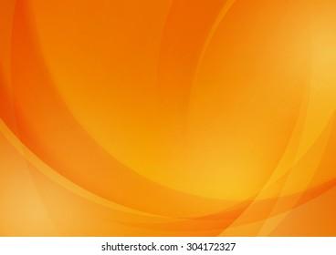 Abstract Orange Background for Design, Vector Illustration