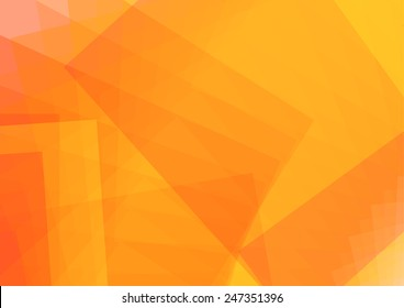 Abstract Orange background. vector illustration