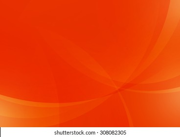 Abstract Orange Background, Vector Illustration