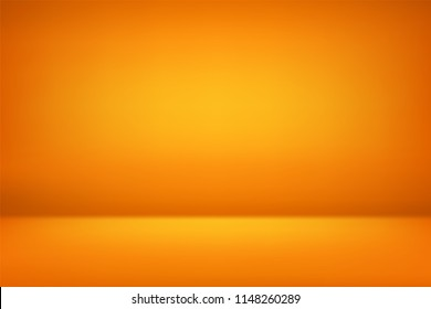 abstract orange gold backgrounds gradient vector illustration, room, interior, display products