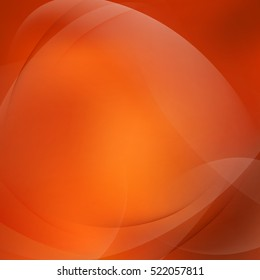 Abstract orange twist light lines. EPS 10 vector file included