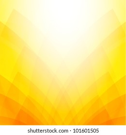 Abstract orange & yellow background