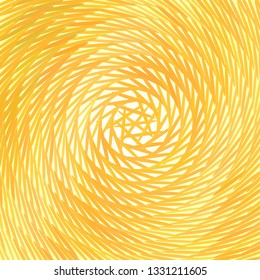 Abstract orange and yellow background. Vector illustration of geometric texture. Pattern for web, print, wallpaper, wrapping, textile design, background for invitation card