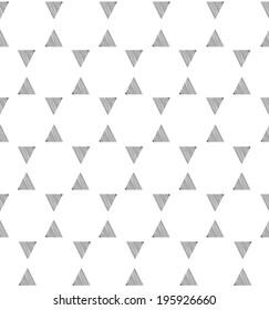 Abstract oriental pattern. Doodle arabic geometric seamless ornament