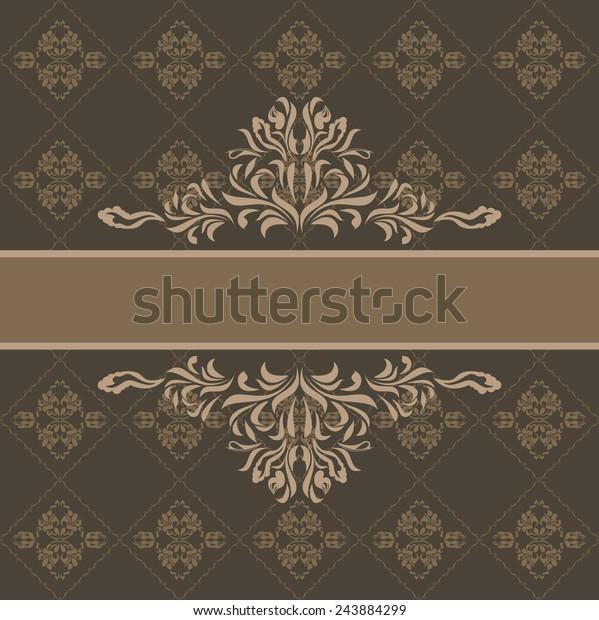 abstract-ornamental-dark-brown-backgroun
