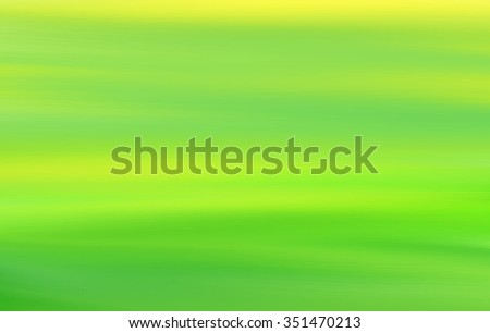 Abstract Painted Yellow Green Art Background Stock Vector