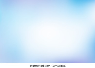 Abstract pastel colorful background vector. Smooth and soft blue blending color.