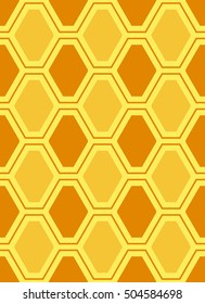 Abstract pattern background with hexagons. Vector illustration