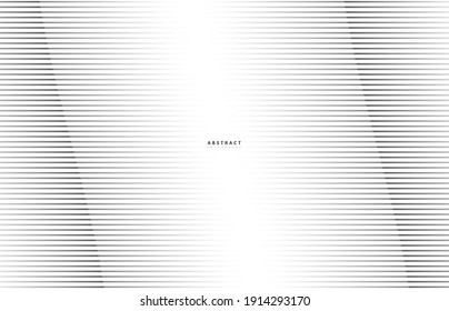 Abstract Pattern background, vector template for your ideas, monochromatic lines texture, waved lines texture. Technology wallpaper.