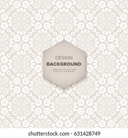 Abstract pattern background. Vintage decorative elements. Hand drawn background. Islam, Arabic, Indian, ottoman motifs