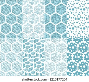 Abstract pattern collection.