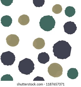 Abstract Pattern Coloring Points. For your design. Vector.