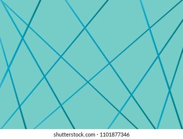 Abstract pattern diagonal line vector. Design stripe random blue gradient on blue green. Design print for wallpaper, textile, fabric, background. Set 7
