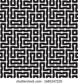 Abstract pattern with horizontal and vertical white segments