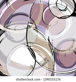 Abstract pattern in the style of marble stone qualitative illustration for your design