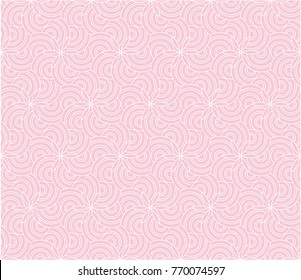 Abstract pattern vector. Floral design floral white on light purple background. Simple design for print.
