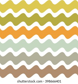 Abstract pattern. Wavy geometric wallpaper.  Vector seamless background.