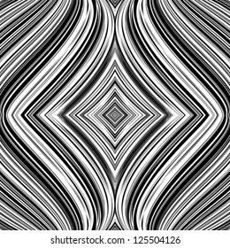 Abstract pattern with whirl movement