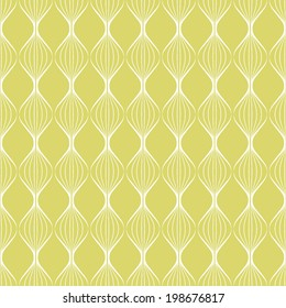 Abstract pattern.Seamless geometric wallpaper background.Vector illustration. Wave texture.