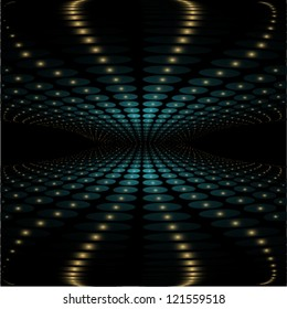 abstract perspective futuristic background