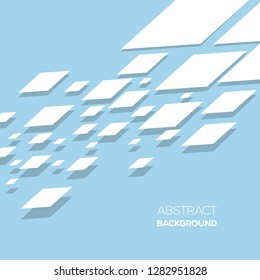 Abstract perspective geometric background