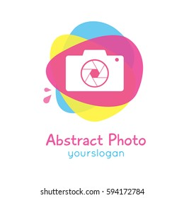 Abstract Photo Simple Logo Type Illustration Vector Isolated