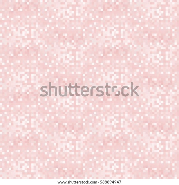 Abstract pink background with mesh of squares or cell. Mosaic style. Geometric template