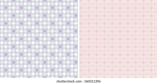 Abstract, pink geometrical background for creativity