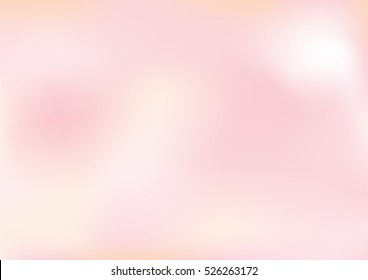 Abstract pink pastel blurred vector backgrounds. Elements for your website or presentation.