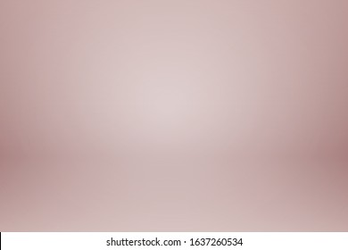 Abstract pink rosegold color tone background. Empty room with spotlight effect. Vector EPS10 Graphic art design.
