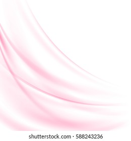 Abstract pink waves background.