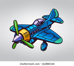 Abstract plane, stylization, vector