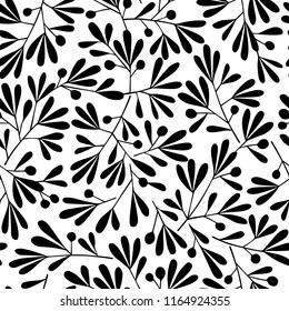 Abstract plant pattern, I designed a plant abstractly,