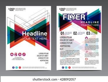Abstract Play Party poster annual report brochure flyer design template Leaflet cover presentation abstract colorful background layout in A4 size Poster Brochure Flyer design Layout vector template