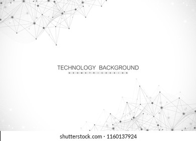 Abstract plexus background with connected lines and dots. Plexus geometric effect. Big data complex with compounds. Lines plexus, minimal array. Digital data visualization. Vector illustration