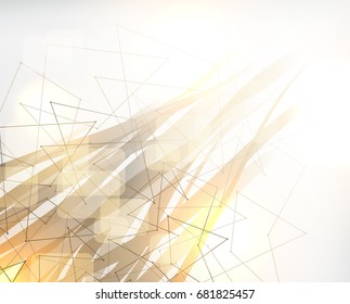 Abstract poly background, polygonal design