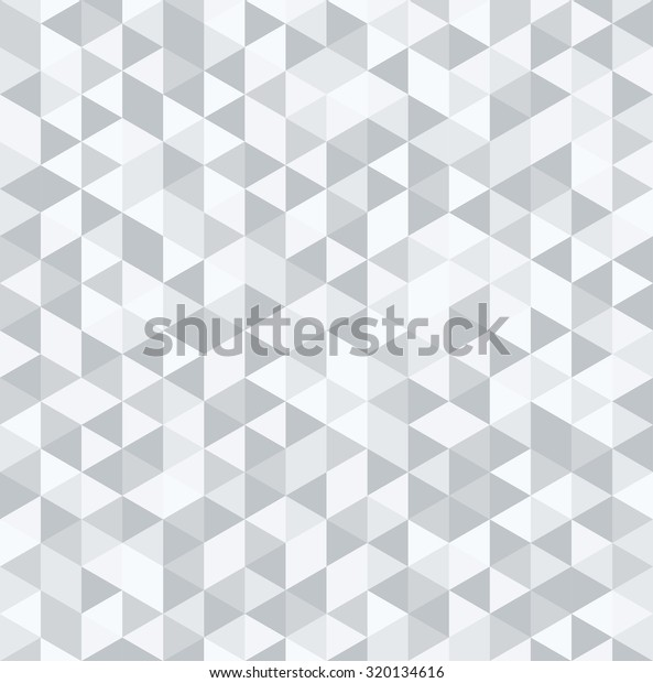 Abstract Polygon Pattern Background Monochrome Stock Vector