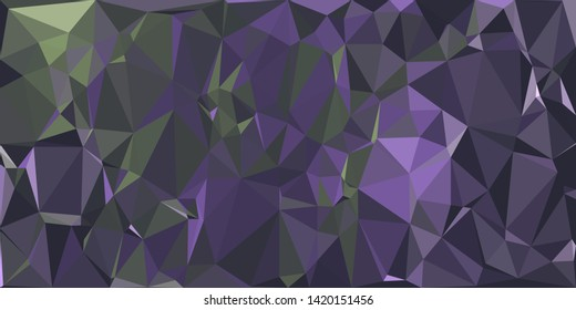 Abstract polygonal background. Triangular geometric pattern. Vector colorful illustration.